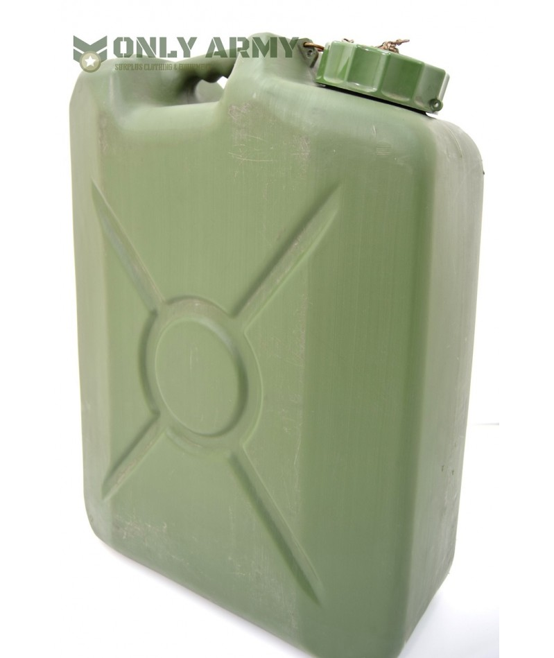 French Army Green Water Can