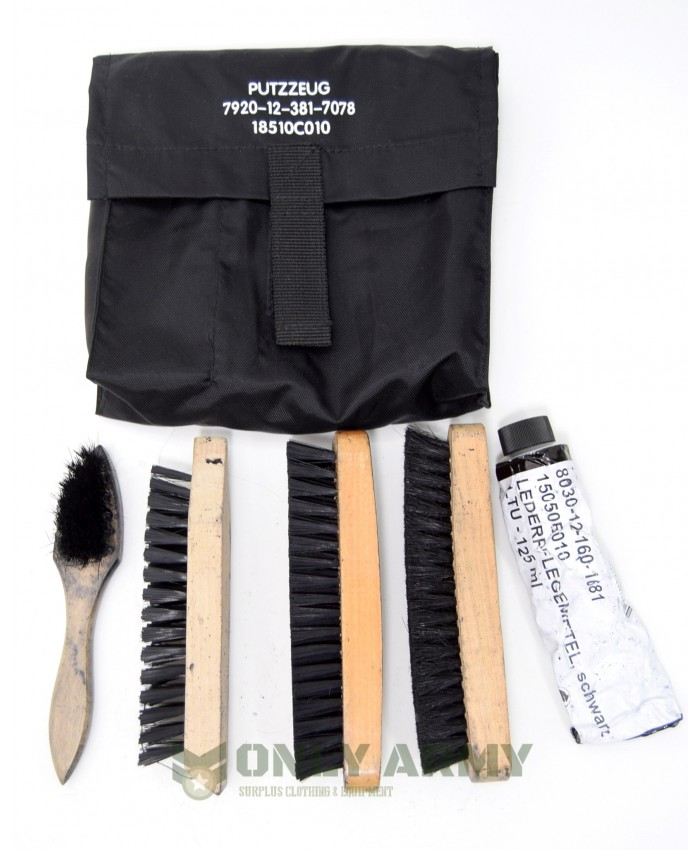 German Army Boot Cleaning Kit Black