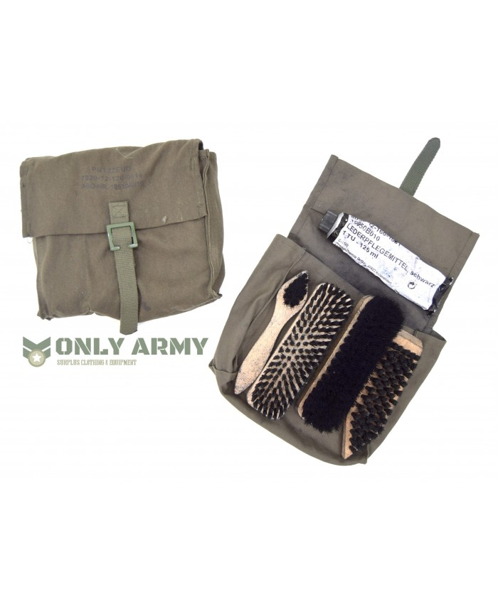 German Army Boot Cleaning Kit Green